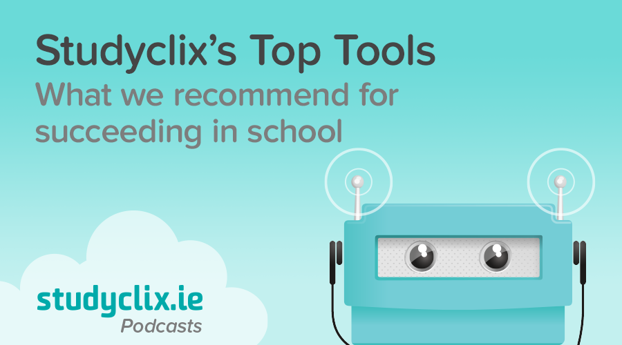 Banner of Podcast: Studyclix's Top Tools for Studying
