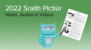 Thumbnail of Sraith Pictiúr 2022 - Notes, Videos and Audios Now Available