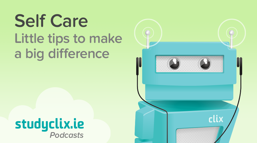 Banner of Podcast: Tips for Self Care