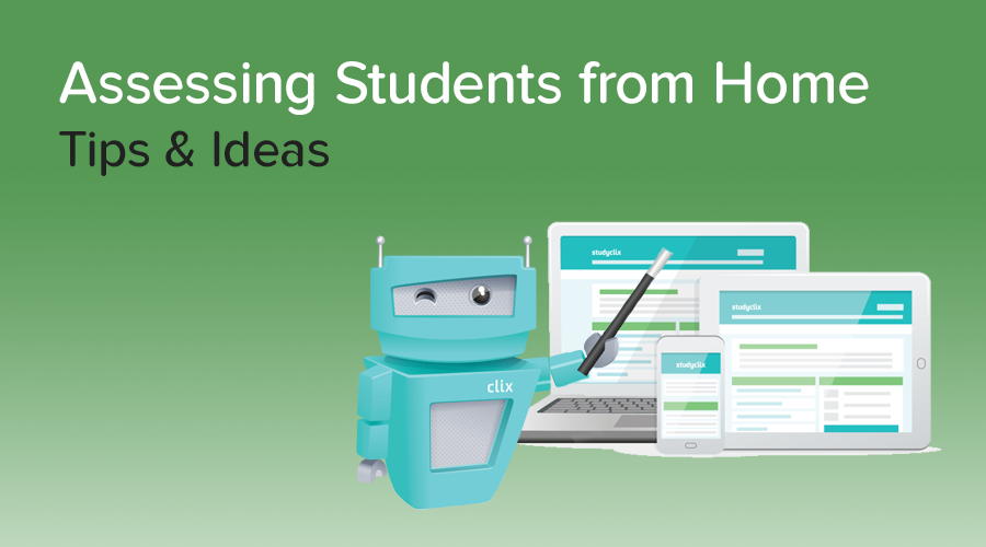 Banner of How to Assess Students from Home