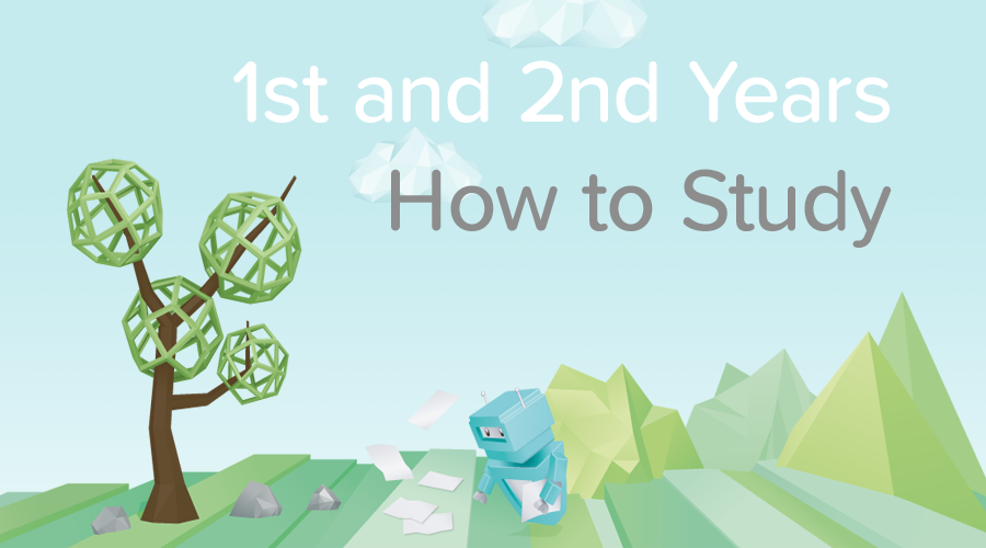 Banner of How to Study - A guide for 1st and 2nd year Students