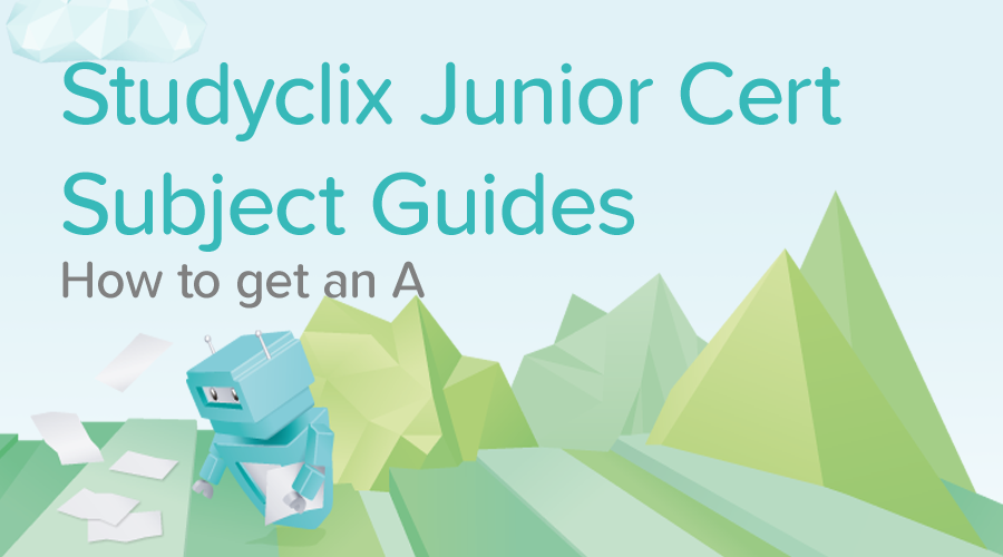 Banner of All Junior Cert Subject Guides - How to get an A