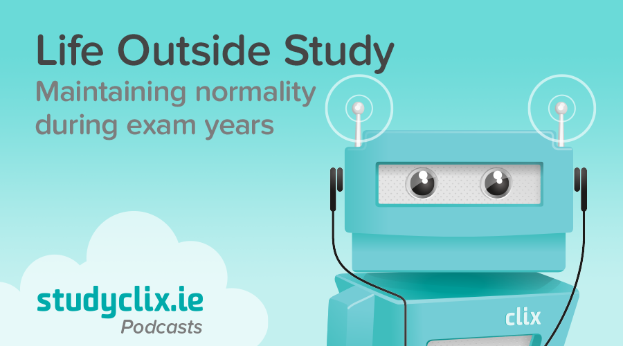 Banner of Podcast: Maintaining Normality During Exam Years