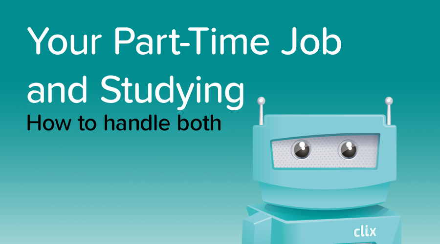 Banner of How to Juggle a Part-Time Job and Study