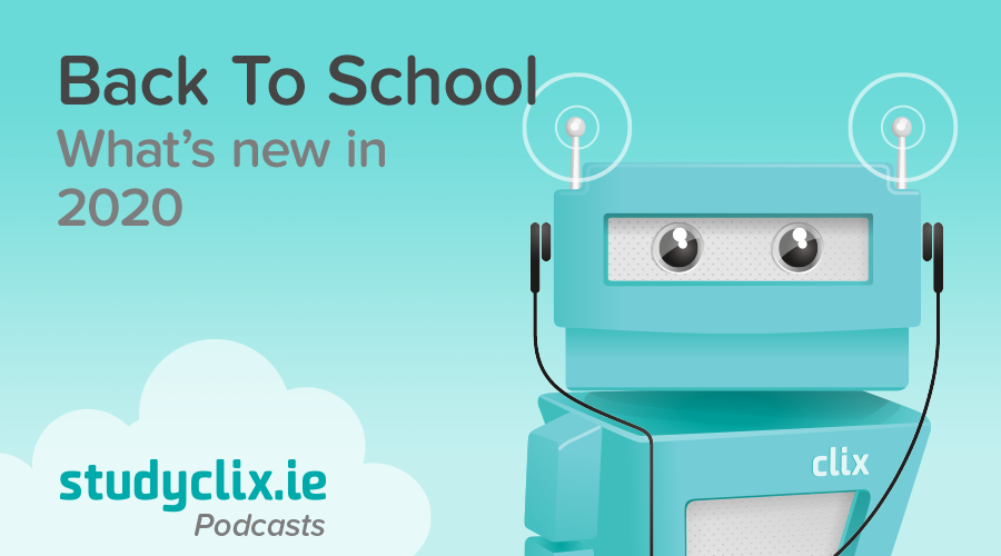 Banner of Podcasts: Back To School in January