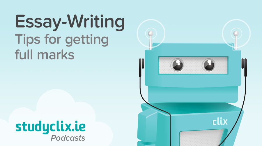 Banner of Podcast: Our Tips for Essay-Writing