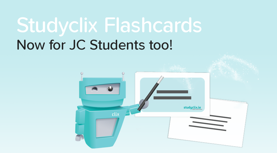 Banner of Introducing: Junior Cert Flashcards for Students!