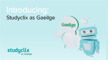Thumbnail of Introducing: Studyclix as Gaeilge