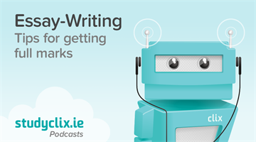 Thumbnail of Podcast: Our Tips for Essay-Writing