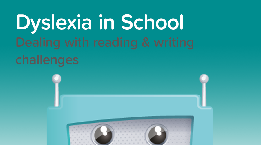 Banner of Dyslexia: Dealing with the reading and writing challenges students face