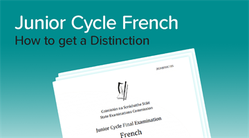 Thumbnail of How to get a Distinction in Junior Cycle French
