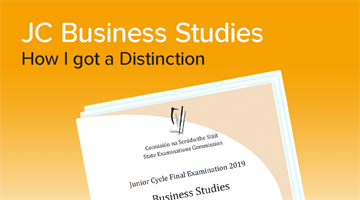 Thumbnail of How to get a Distinction in Junior Cycle Business Studies