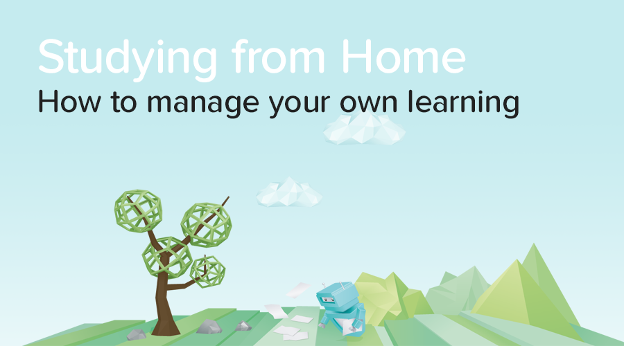 Banner of How to Learn and Study at Home