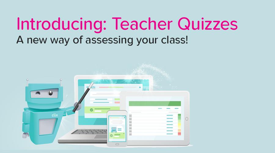 Banner of Introducing: Teacher Quizzes!