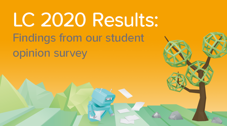 Banner of Leaving Cert 2020 Student Opinion Survey: The Results